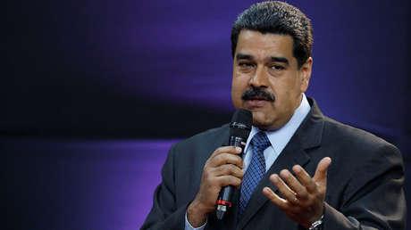 El presidente de Venezuela, Nicolás Maduro, en Caracas, el 20 de febrero de 2018.