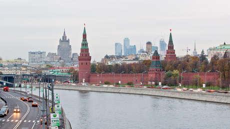 Vista del Kremlin, Moscú, el 18 de octubre de 2011.