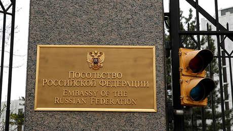 La Embajada de Rusia en Washington, EE.UU.