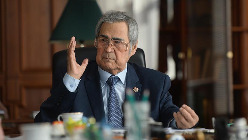 El gobernador de la región siberiana de Kémerovo presenta su dimisión