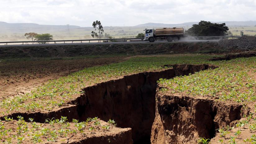 Una grieta enorme aparece en Kenia: ¿La división del continente africano en acción?