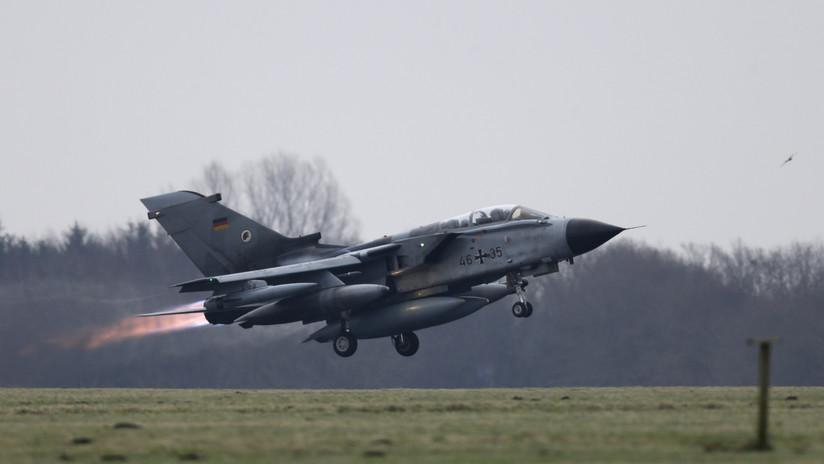 Declaran inadecuados a los aviones alemanes Tornado para misiones de la OTAN