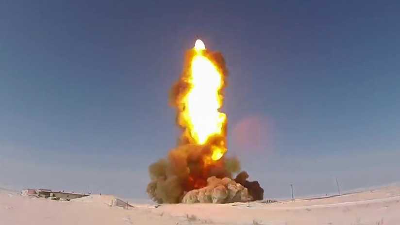 VIDEO: Rusia prueba con éxito un nuevo proyectil de su modernizado sistema antimisiles