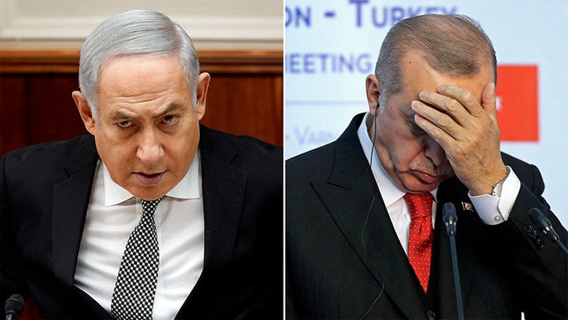 """""""Carnicero"""", """"terrorista"""", """"invasor"""": Guerra verbal entre Erdogan y Netanyahu"""