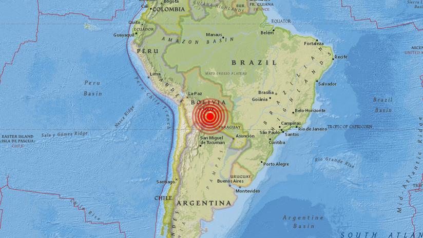 Un sismo de 6,8 sacude Bolivia