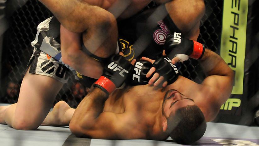 45 golpes en 58 segundos: Así cae el 'luchador más odiado' de la MMA