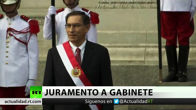El nuevo presidente de Perú nombra su Gabinete ministerial