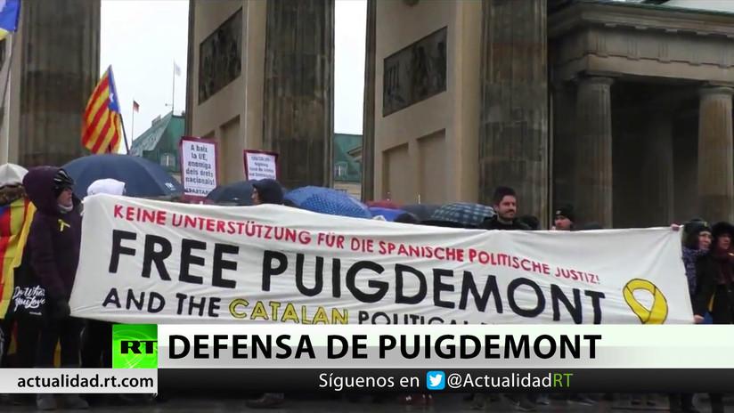 Puigdemont niega que se apelara a la violencia durante el referéndum independentista