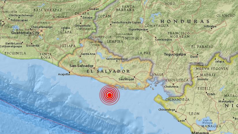 Se registran 17 réplicas del sismo de magnitud 6,0 en El Salvador