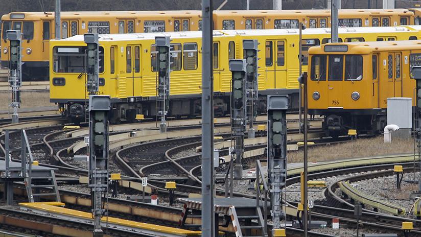 Al menos 20 heridos tras colisionar dos trenes en el metro de una ciudad alemana