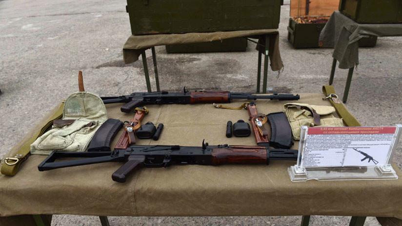 En 2019 comenzarán a fabricarse fusiles Kaláshnikov en Venezuela