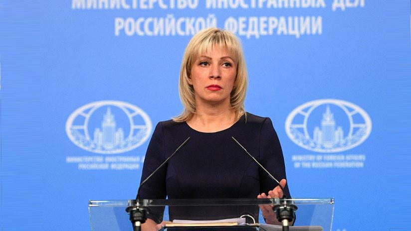 """Zajárova: """"Londres continuará mintiendo y dando rodeos en el caso Skripal"""""""