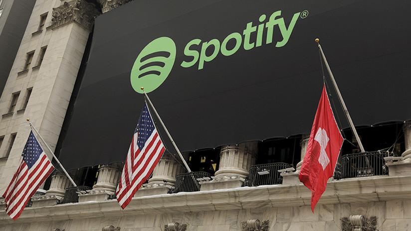 FOTO: Este es el sorprendente error de Wall Street en el debut de Spotify