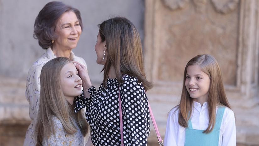 ¿Discordia real en España?: Letizia evita que Sofía se fotografíe junto a sus nietas