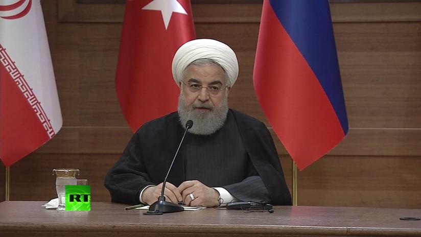 """Presidente iraní: """"EE.UU. quiso usar al EI y Frente Al Nusra como una herramienta de gestión"""""""