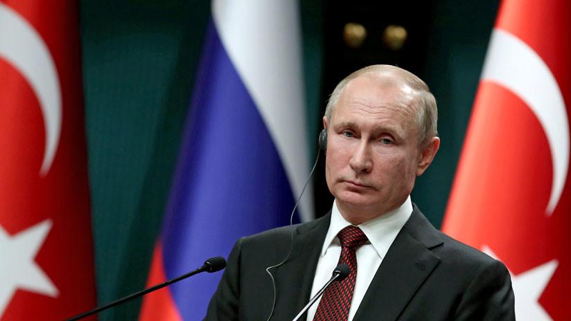 """Putin: """"Los terroristas en Siria están organizando provocaciones con el uso de sustancias tóxicas"""""""