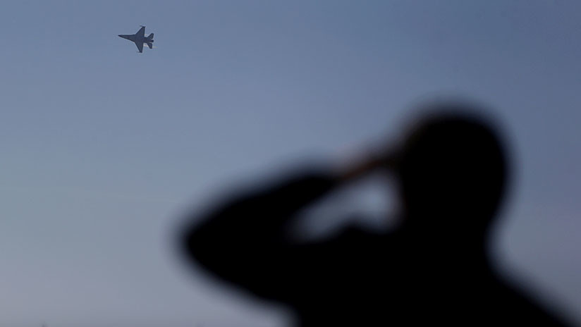 Se estrella un caza F-16 cerca de Las Vegas