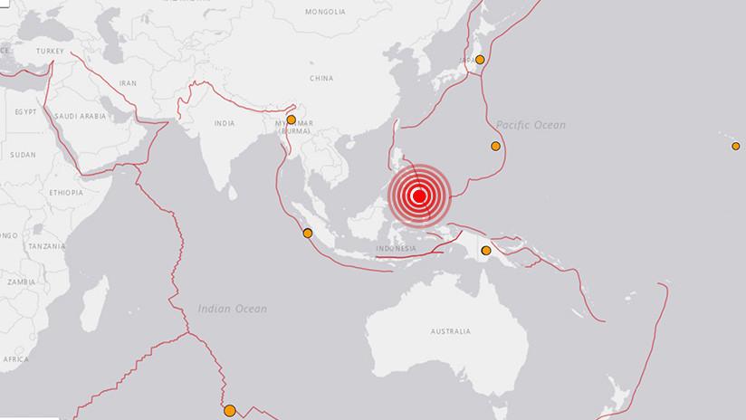 Se registra un sismo de magnitud 5,9 en Filipinas