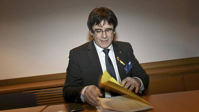 Puigdemont envía una carta pidiendo la investidura de Jordi Sánchez