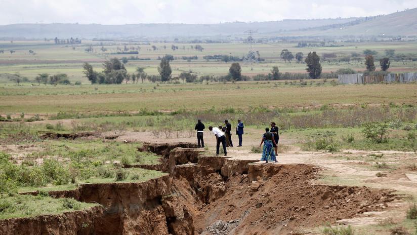 ¿Se divide África en dos continentes? La enorme grieta de Kenia alerta a los científicos