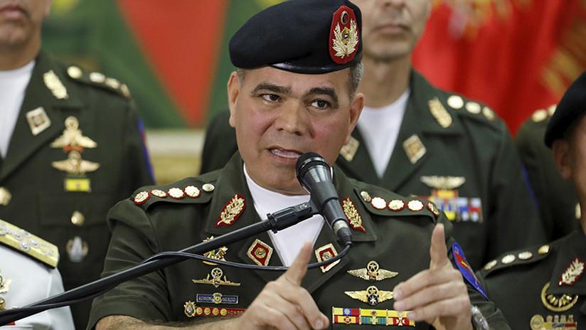 """Ministro de Defensa de Venezuela a RT: """"Detrás de los terroristas están los intereses del imperio"""""""