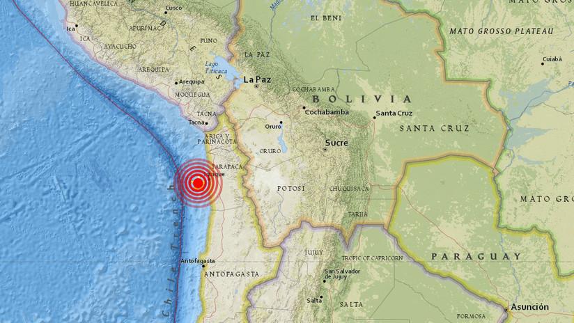 Un terremoto de 5,6 sacude Chile