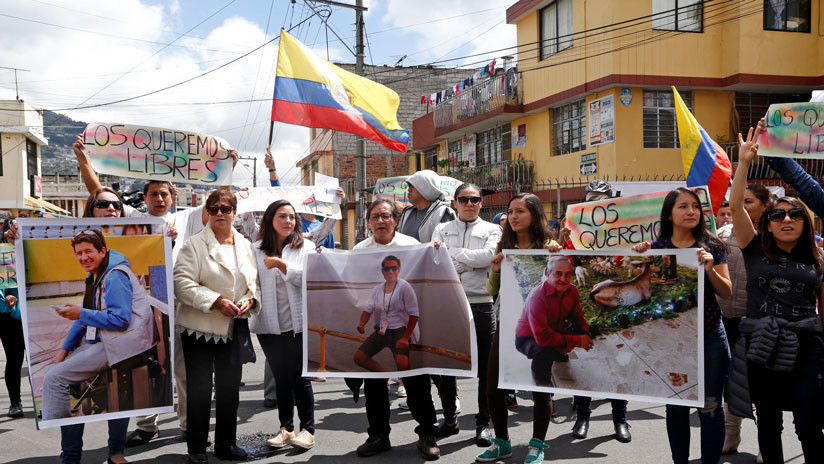 Ecuador: Encuentran vehículo del equipo periodístico secuestrado en la frontera con Colombia