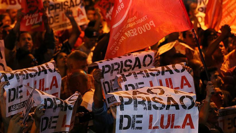Partidarios de Lula salen a las calles para apoyar al expresidente