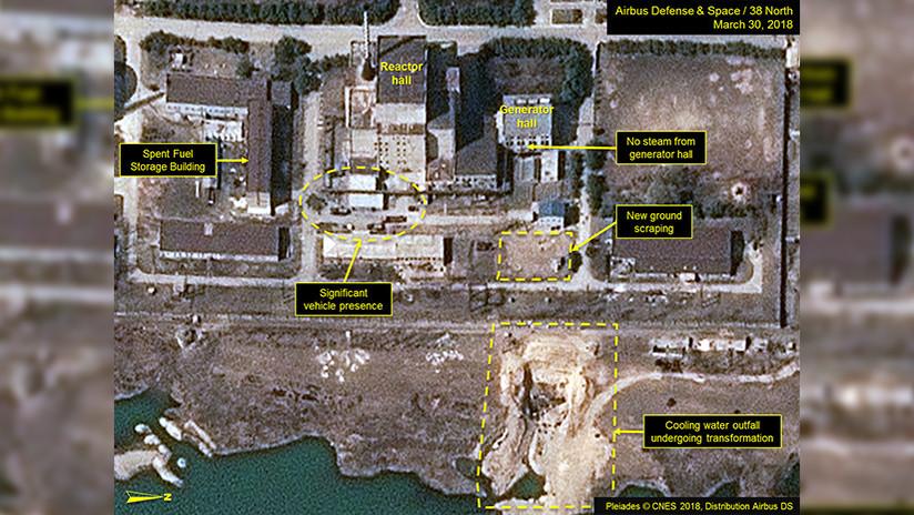 Nuevas imágenes de satélite revelan actividad en una instalación nuclear de Corea del Norte