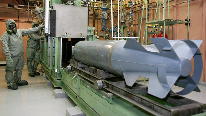 Legado de la Guerra Fría: ¿Por qué EE.UU. todavía tiene un arsenal de armas químicas?