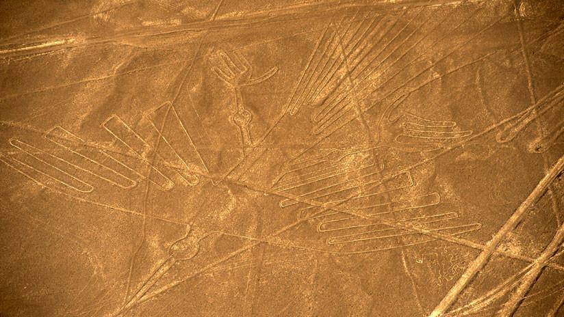 VIDEO: Hallan en Perú nuevos dibujos gigantes de Nazca