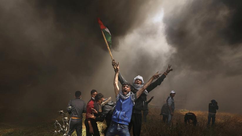 VIDEO: Al menos 5 palestinos muertos y decenas de heridos en la frontera entre Gaza e Israel
