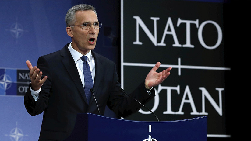 """""""Búsquenlo en Google"""": La grosera respuesta de Stoltenberg sobre las misiones nucleares de la OTAN"""