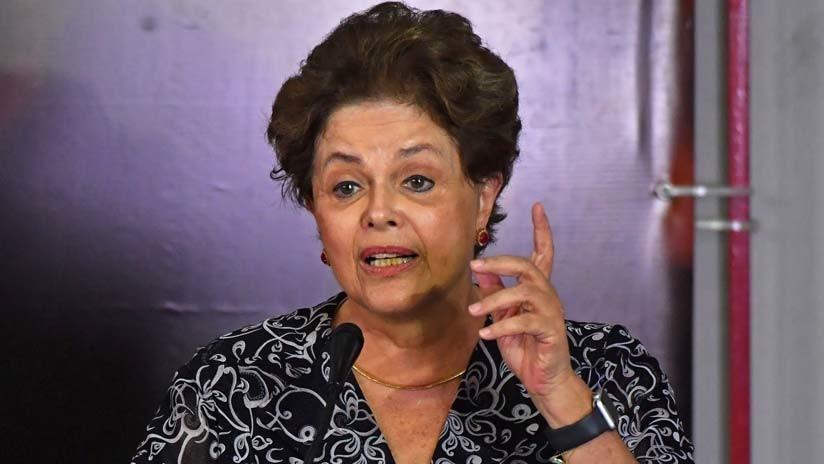Rousseff se presentará como candidata al Senado de Brasil