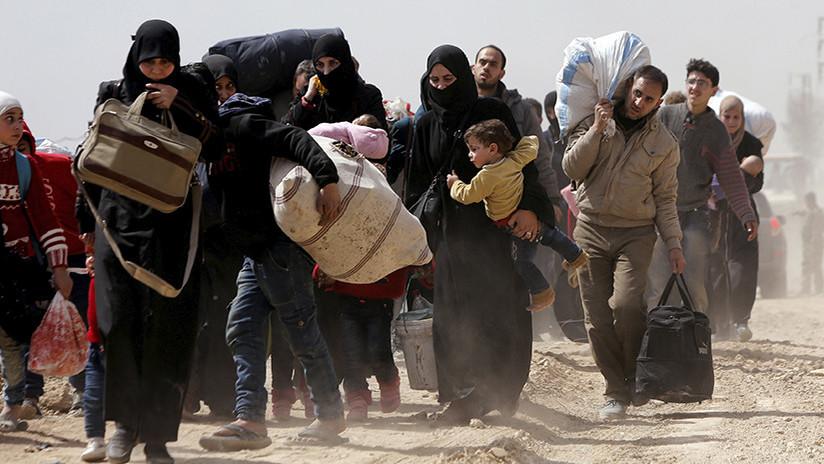 Más de 55.000 civiles sirios han regresado a las zonas liberadas de Guta Oriental