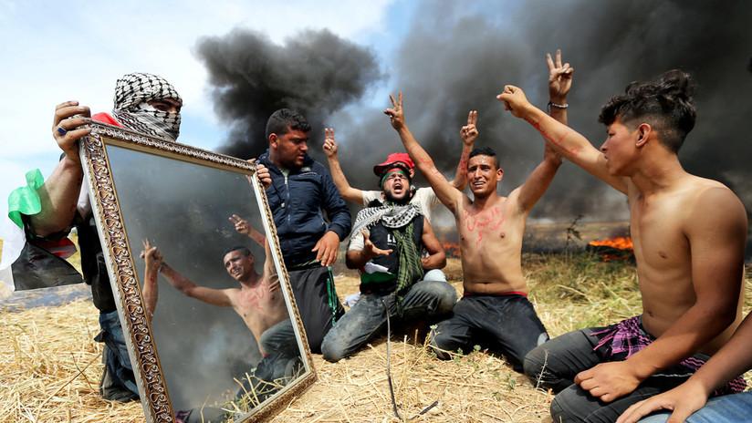 Duras imágenes: La frontera entre Gaza e Israel, 'epicentro' de la nueva ola de violencia