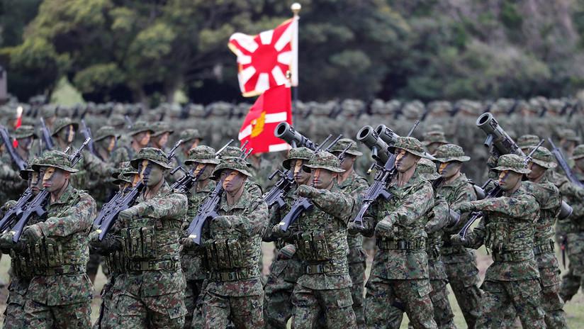 VIDEO: Japón recupera sus 'marines' de élite por primera vez desde la Segunda Guerra Mundial