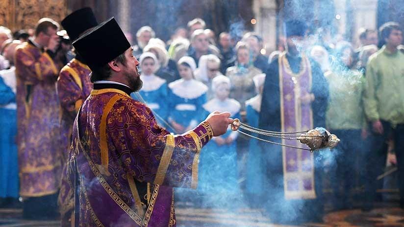 Rusia celebra la Pascua, la mayor festividad ortodoxa