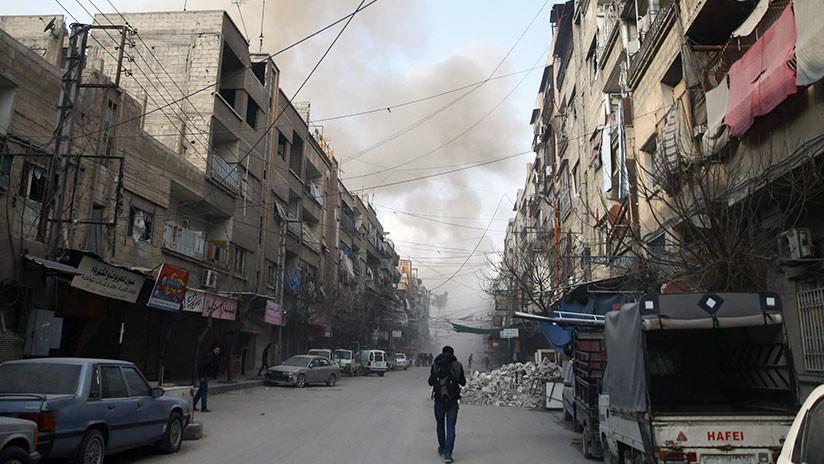 """""""Un intento para detener al Ejército"""": Siria niega acusaciones de un ataque químico en Guta Oriental"""