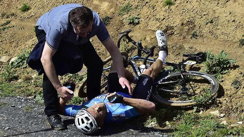 Muere el ciclista belga Michael Goolaerts tras caerse y sufrir un infarto en la prueba París-Roubaix