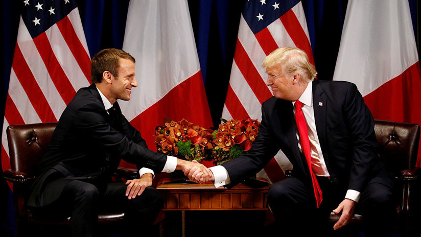 """Macron condena los """"ataques químicos"""" y coordinará con Trump su postura en la ONU"""