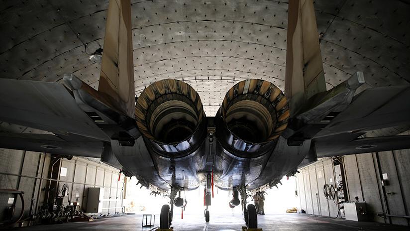 """Rusia: """"El ataque a la base siria fue realizado por dos aviones F-15 de la Fuerza Aérea de Israel"""""""