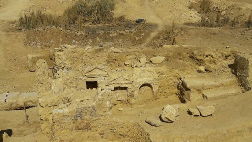FOTOS: Hallan un antiguo templo grecorromano en pleno desierto de Egipto