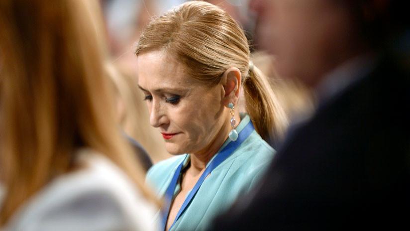 Ciudadanos exige la dimisión de la presidenta de Madrid por el escándalo sobre su máster