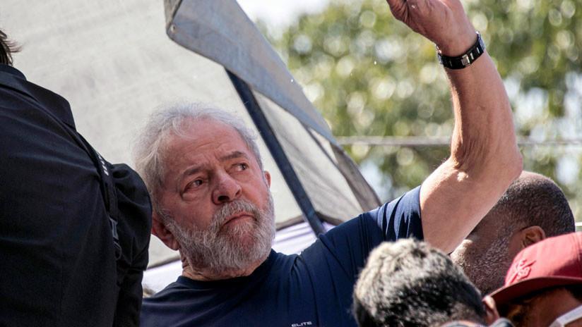 """""""Estoy bien con mi conciencia"""", dice Lula da Silva en un mensaje a sus partidarios"""