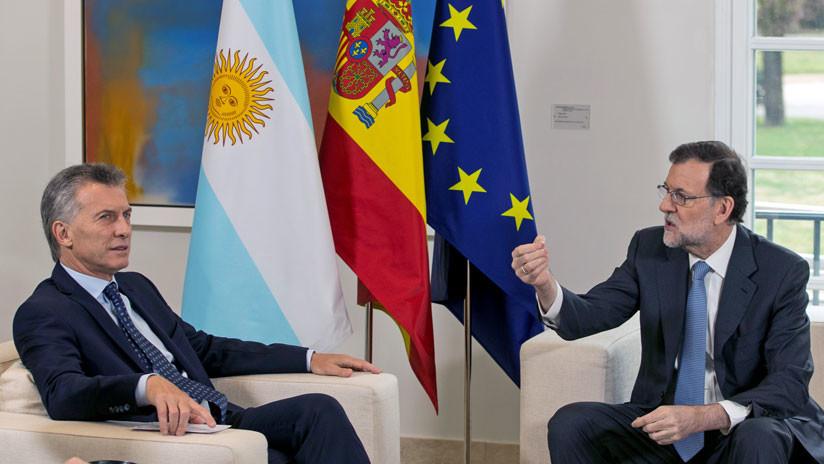Rajoy llega a Argentina para reunirse con Macri: Los temas en la agenda