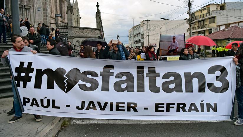 Ecuador: No hay ningún proceso de negociación para liberar al equipo periodístico