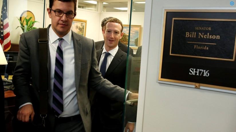 Zuckerberg se disculpará ante el Congreso de EE. UU. por filtrar datos de usuarios de Facebook
