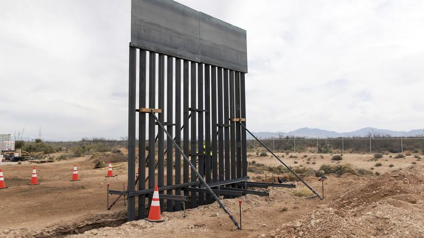 FOTOS, VIDEO: EE.UU. comienza la construcción del muro fronterizo en Nuevo México