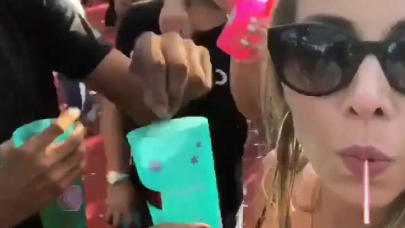 """""""El vaso estaba vacío"""": Joven brasileña explica razón del video falso sobre drogas en su bebida"""